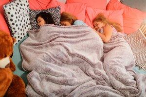 Wenn Kinder woanders schlafen