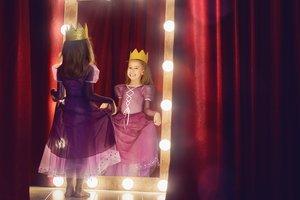 Faschingskostüm einfach selber machen: Prinzessin