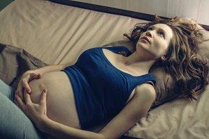 Viele Schwangere leiden unter Schlafstörungen.