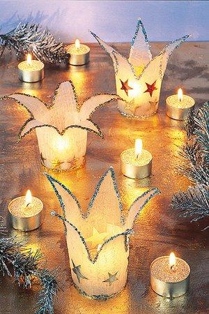 Windlicht Für Weihnachten Basteln Familiede