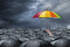 Negative Gedanken vertreiben
