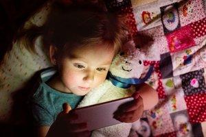 Schaden Smartphones Kinderaugen?