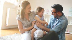 Sprachentwicklung bei Kindern und Babys geht am besten im Dialog