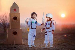 50 Jahre Mondlandung – für kleine Astronautinnen und Raumfahrer