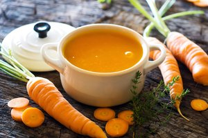 Hausmittel bei Durchfall: Die Moro-Suppe ist der Hit