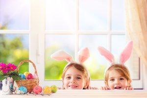 Groß und Klein freuen sich, wenn bald wieder Ostern ist.