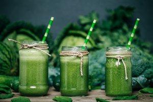 Grüne Smoothies sind regelrechte Folsäure-Bomben