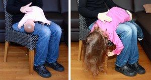 Klopfmethode beim Säugling und beim Kind