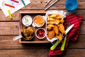 Gesundes Fast Food für Kinder
