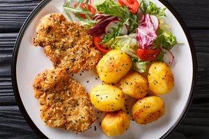 Rezept für vegetarische Schnitzel: gesund und einfach selber machen.