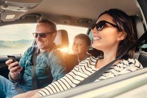 Entspannt mit dem Auto und Kindern in den Urlaub