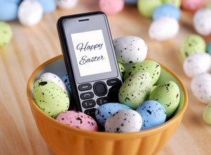 Fröhliche Ostergrüße per SMS