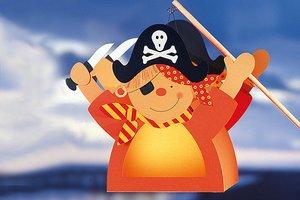 Laternen Basteln Pirat Familie De