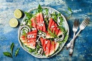 Gegrillte Melone