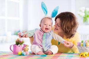 Mit Baby ist Ostern gleich doppelt schön