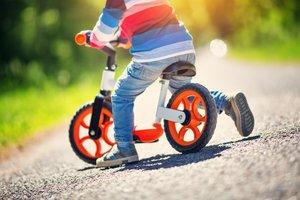 Laufrad für Kleinkinder: Macht Spaß und bereitet auf das Fahrradfahren vor